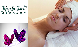 Keep In Touch Massage Banner