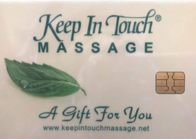Keep in Touch Massage Gift Card