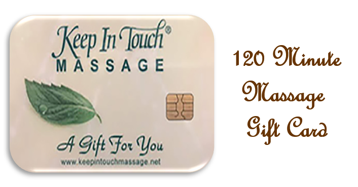 Gift Card - A 120 Minute Massage