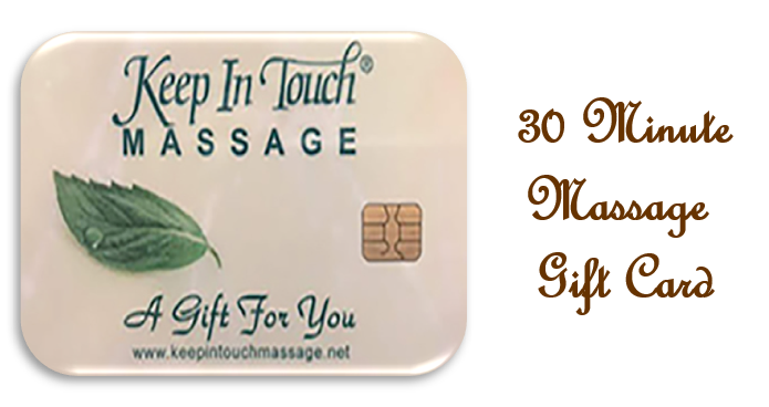 Gift Card - 30 Minute Massage