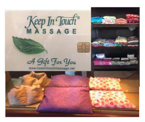 Keep In Touch Massage Products & Gift Cards
