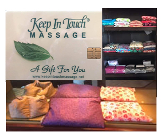 Gift Card Package - Large Corn Bag & 60 Minute Massage