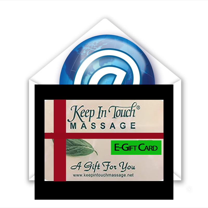 E-Gift Card: 30 Minute Massage E-Gift Card